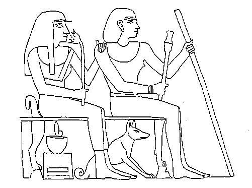 Pharaohs Age Basenjis In Ancient Egypt
